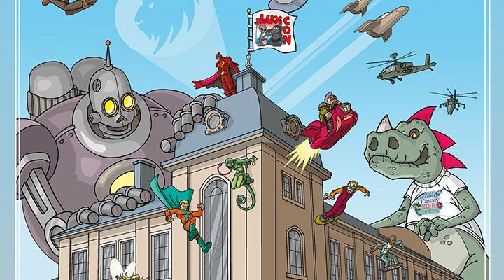 luxcon 2015 comics convention luxembourg tetange