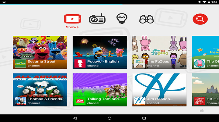 youtube kids enfants google