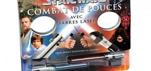 sabre laser pouces