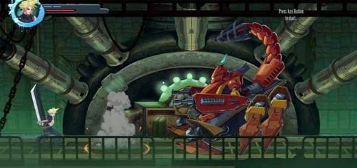 Final Fantasy 7 version Beat-em-up