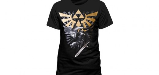 t shirt zelda triforce link