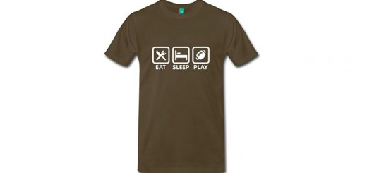 t-shirt eat sleep game