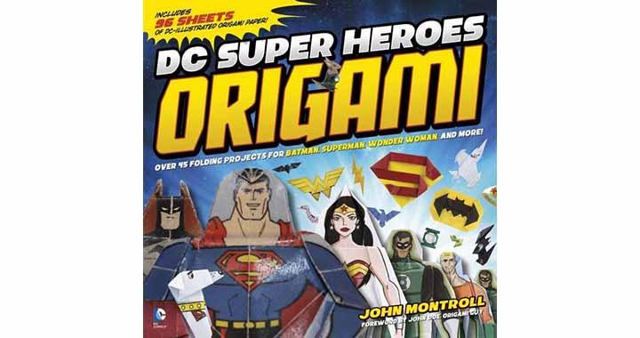 super héros DC origami