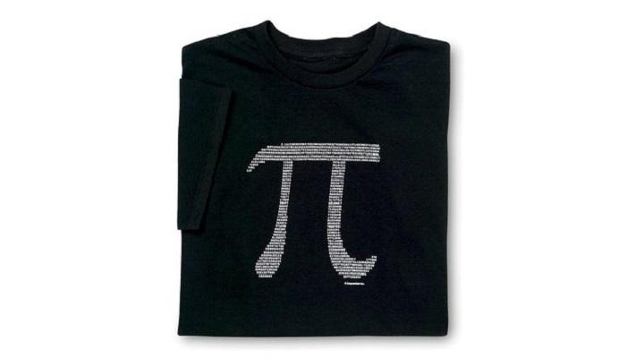 t-shirt pi science nombre
