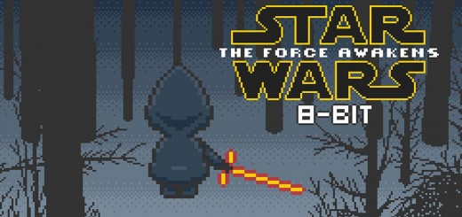 star wars 8 bit teaser reveil force