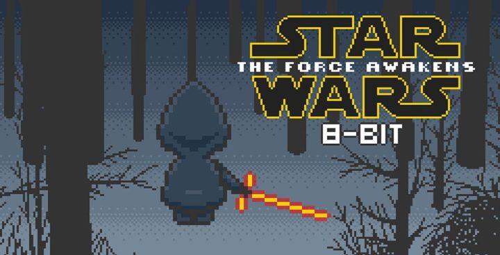 star wars 8 bit teaser reveil force