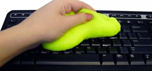 cyber clean clavier smartphone pc nettoie
