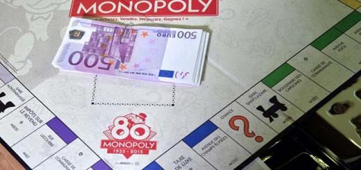 monopoly fête 80 ans hasbro billets