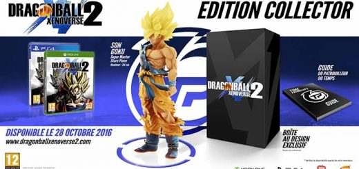 Édition collector Dragon Ball Xenoverse 2