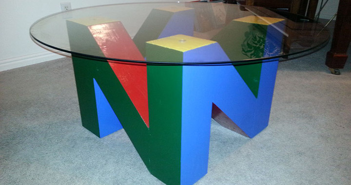 table n64 nintendo salon
