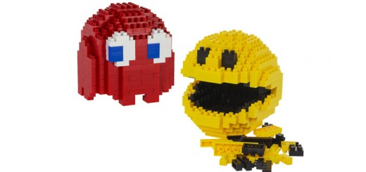 Lego Pac-Man bricks pixel movie