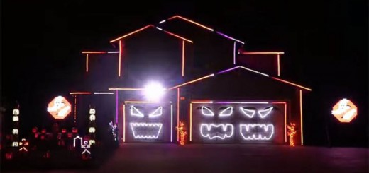 Light Show Halloween Ghostbusters
