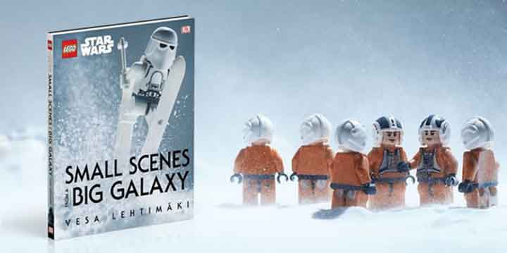 Livre Small Scenes From A Big Galaxy Lego (4)