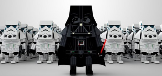 Momot paper toys, Marvel, DC, Star Wars, Disney, figurines, kit, how-to, instructions, papier, coller, couper, jouets