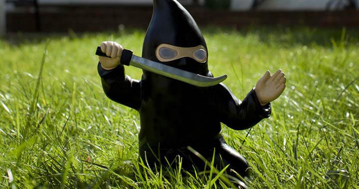 Ninja nain de jardin (1)
