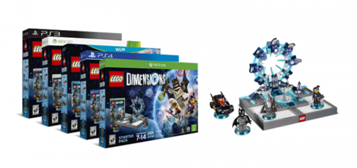 minifigure lego dimensions amiibo skylanders ninja console xbox playstation wii u nintendo