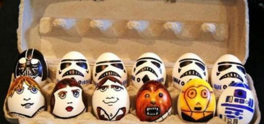 Top 10 des plus beaux œufs de pâques Geek peint chocolat amandes lapin