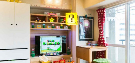 appartement super Mario