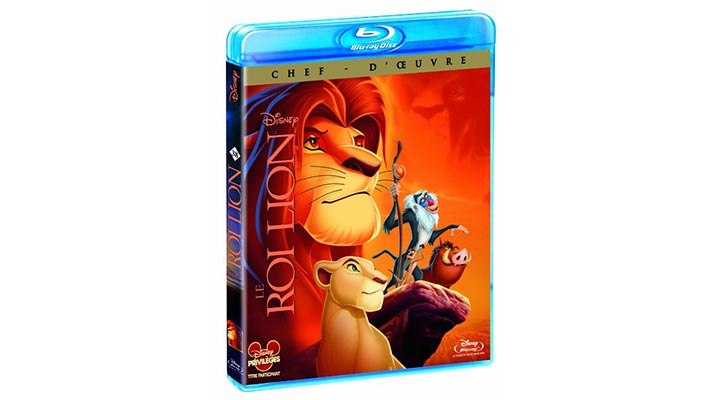 blu ray le roi lion