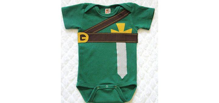 cache couche pour bébés Geek