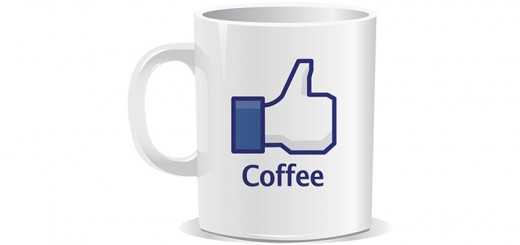 tasse like facebook café thé coffee tea
