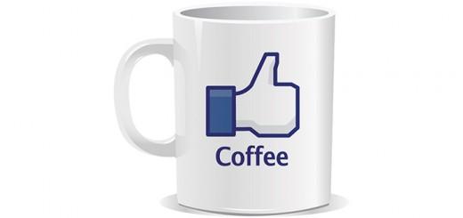tasse like facebook café thé coffee tea