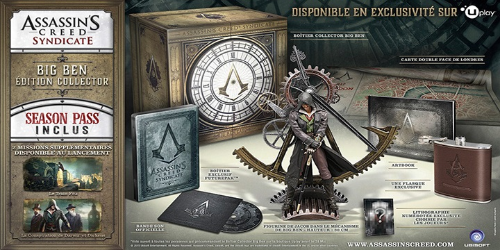 collector Assassin's Creed Syndicate ps4 xbox jeux video commander