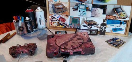 consoles customisés