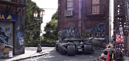 diorama Satoshi Araki geek batman tokyo modele reduit (8)
