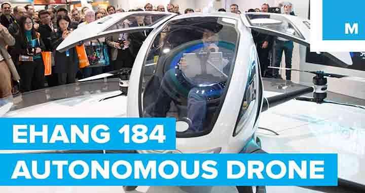 drone transporteur de personnes