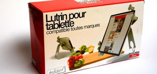 pupitre pour tablette cuisine