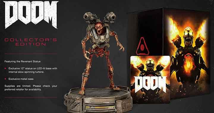 edition collector doom revenant steelbook