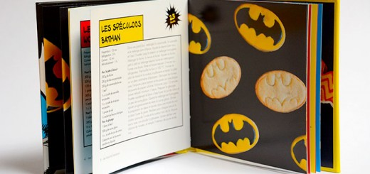 cookies super héros batman superman wonder woman dc cuisine