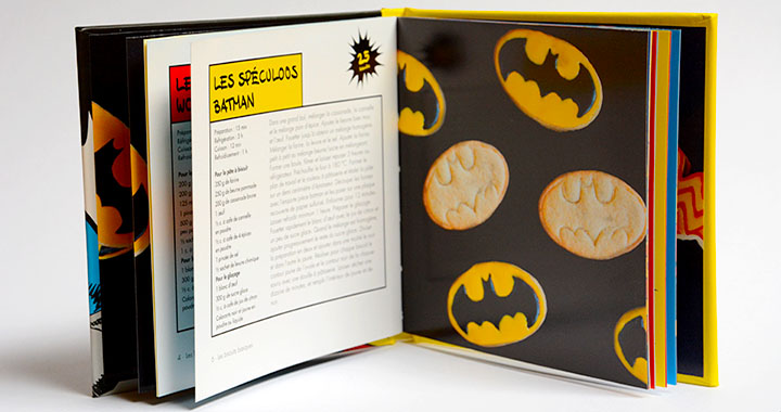 cookies super héros batman superman wonder woman dc cuisine