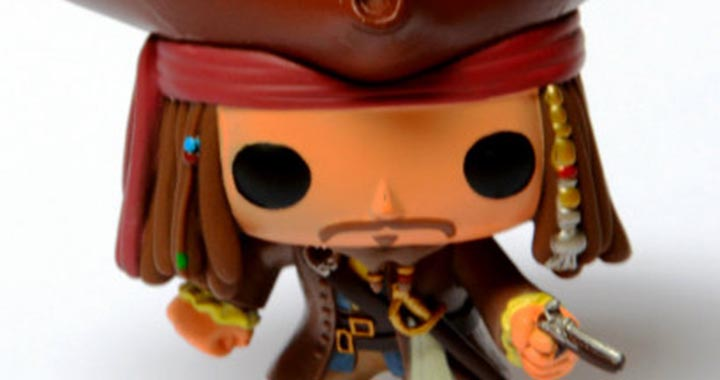Funko Pirates caraibes johnny depp