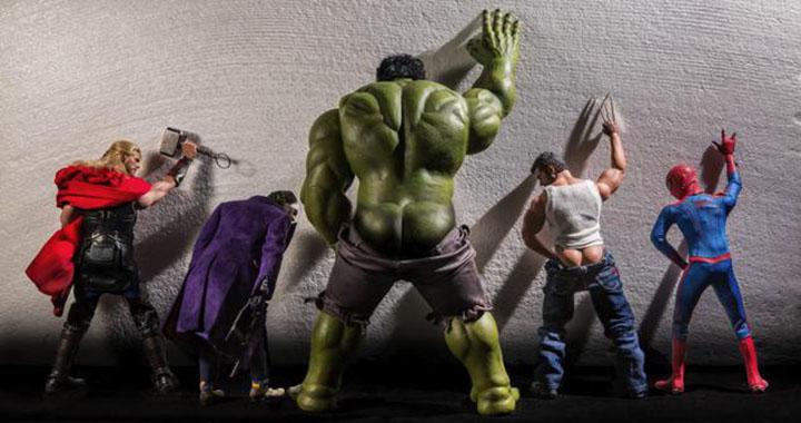 vie privée des super-héros marvel dc batman superman hulk avengers america wolverine spiderman