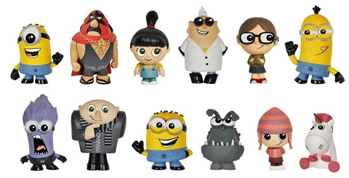 figurines funko minions vynil
