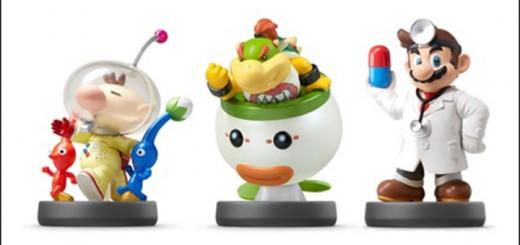 figurines amiibo sortie nintendo mario pokemon pikmin
