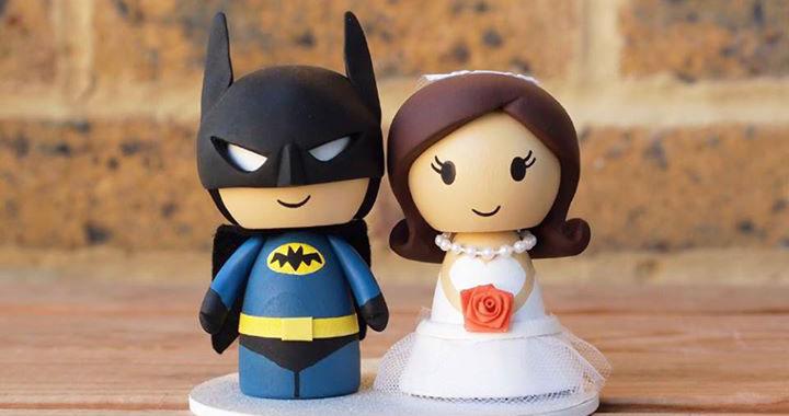 Des Cake Toppers De Gâteau De Mariage Geek Geekoupasgeek