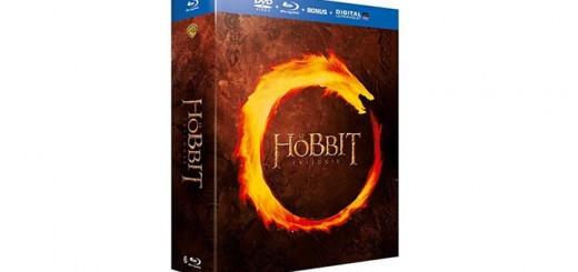 hobbit trilogie blu-ray dvd coffret