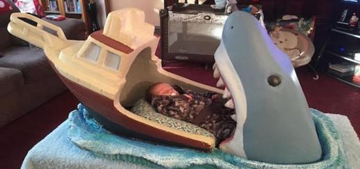 Dents de la Mer lit bébé
