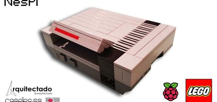 kit NES Lego raspberry
