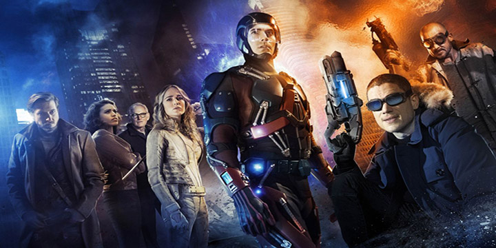 teaser legends of tomorrow dc série tv arrow flash