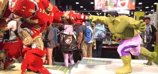 lego hulkbuster hulk comic con 2015