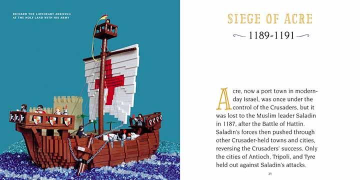 histoire médiéval en Lego