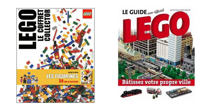 livres lego architecture technic villes creative