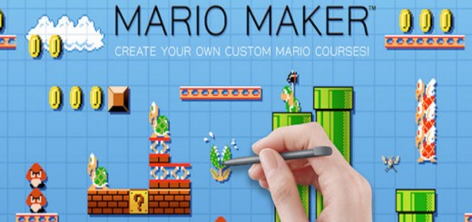 mario maker retro jeu gamepad
