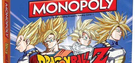 monopoly dragon ball