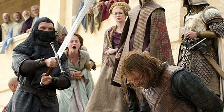 morts game of thrones