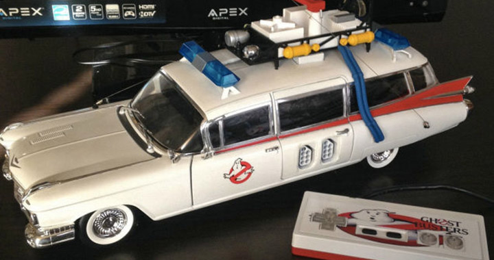 Retrobit Nes Ghostbusters fantomes hot wheels modele voiture console jeux videos